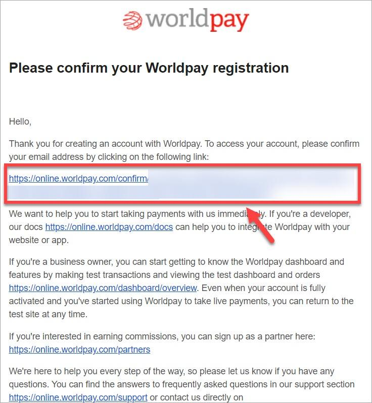 Application Worldpay Integration