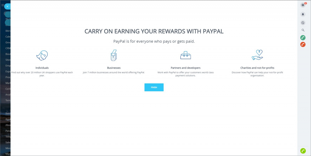 Application PayPal Integration
