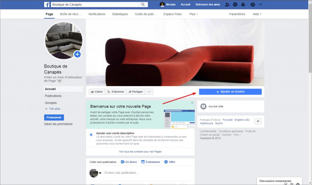 facebook bienvenue connectez